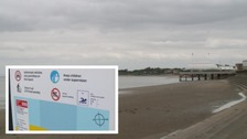 Burnham on Sea fails new EU water quality standards