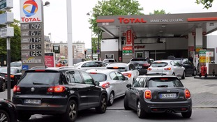 How can you save on fuel while driving through France?