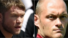 Peterborough United's Grant McCann (left) will go up against Alex Neil (right) in pre-season.