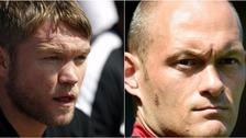 Peterborough United's Grant McCann (left) will go up against Alex Neil (right) in pre-season.