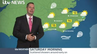 Friday's weather for the east of the region