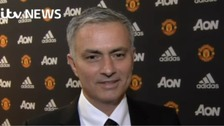 Mourinho's first interview as Manchester United manager