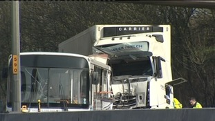 Lorry Driver Dies In M5 Crash