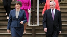 Arlene Foster and Martin McGuinness agreed the draft on Thursday.