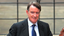 Former Labour cabinet minister Lord Mandelson.