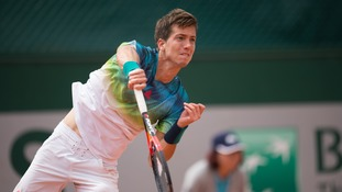 Bedene relishing Djokovic tie at French Open