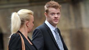 Woman tried to mow down Alex Higgins' son, court hears