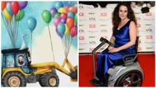 Soap star praises 'beautiful' disability art project