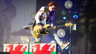 Manic Street Preachers 'nervous but excited' about Swansea show