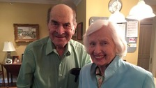 Dr Henry Heimlich with Patty Ris