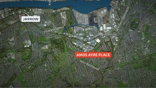 Amos Ayre Place, Jarrow