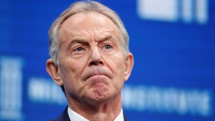 Tony Blair: Jeremy Corbyn coming to power would be a 'very dangerous experiment'