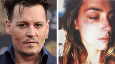 Johnny Depp's wife Amber Heard accuses him of domestic violence
