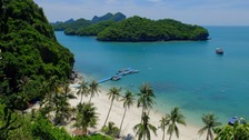 The accident happened near the island of Koh Samui on Thursday