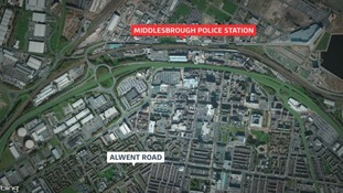 Middlesbrough Police Station map