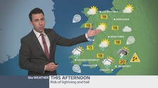 Wales weather: Heavy and thundery showers on the way