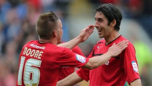 Craig Noone and Peter Whittingham celebrate