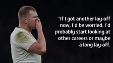 Dylan Hartley: 'One more concussion and I could retire'