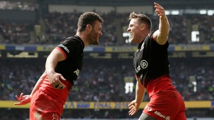 Premiership final match report: Saracens 28-20 Exeter Chiefs