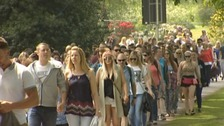 Thousands at Powderham Castle for Big Weekend festival