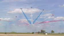 Thousands turn out for Teesside Airshow