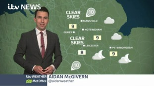 East Midlands Weather: Dry night with light winds