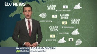 West Midlands Weather: Dry night across the region
