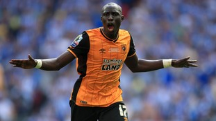 Mo Diame goal fires Hull City back into the Premier League