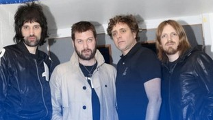 Kasabian take to the stage at the King Power stadium
