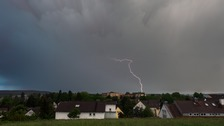 One dead and several injured in lightning strikes across Europe