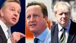 Gove and Johnson warn PM's credibility is on the line over EU membership