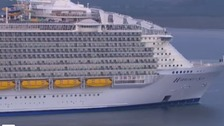 Passengers describe world's biggest cruise ship as 'construction site'