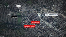 Two stabbed in Luton street attacks