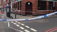 Murder investigation launched after stabbing in Camden.