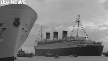 VIDEO: Southampton's most famous ever passenger ship celebrates 80th birthday
