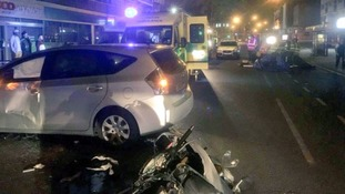 East Ham: Motorcyclist in critical condition following crash near Upton Park