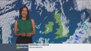 Sunshine for many but with high UV levels too