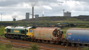 Train on Teesside
