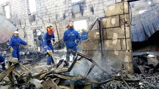 Fire at elderly home in Ukraine kills 17 and injures 5
