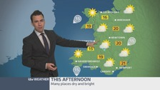Wales weather: Mostly dry and bright