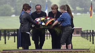 100 years on: Germany and France commemorate Battle of Verdun