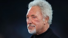 Sir Tom Jones tells of 'tough few months' since wife's death