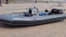 Twenty people rescued from inflatable boat in Channel