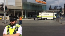 Controlled explosion heard after Nottingham shopping centre evacuation