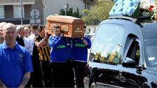 Gerard Quinn funeral.