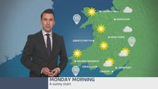 Wales weather: Sunny start to the morning