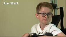 Ormskirk youngster hopes to walk again
