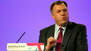 Shadow Chancellor Ed Balls delivered his speech at the Labour Party conference today.