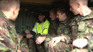 South West TA Soldiers begin training in Germany