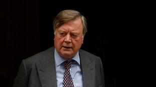 Justice Secretary Kenneth Clarke